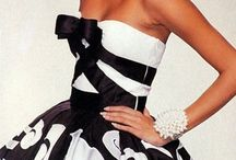 černá a bílá elegance