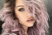 light purple hair ombre