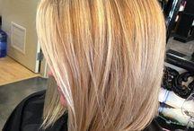 Woman hair cuts