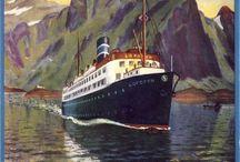 Hurtigruten / coastal steamer / The Norwegian Coastal Voyage.