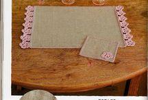 crochet con tela