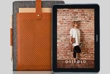 Samsung Galaxy Tab wool & leather case / Wool & leather cases for Samsung Galaxy Tab handcrafted in Silesia