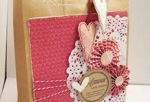 sacolas de papel decoradas