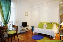 Comfortable Paris Rental Apartments / This comfortable Paris rental apartment has an exceptional location; at the border of the 6th and the 7th districts, literally with one foot in Saint Germain and the other one in Montparnasse. It is a very pleasant and upscale neighborhood that is both residential and safe.