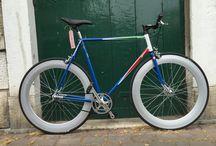 BC frecce tricolori / Biciclette fixed single speed Bike cycle
