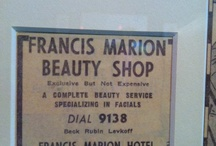 Historical Artifacts  / by Francis Marion Hotel