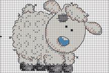 Cross stitch - animals