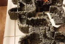 RPG Terrain / Role Playing Terrain my Boyfriend makes or I come across