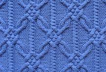 Вязание косичкой