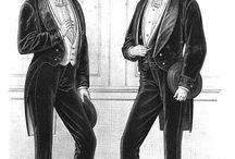 Costume masculin XIXeme siècle