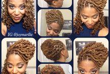 Dreadlocks hair idea / by estella jean-baptiste