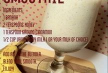 Smoothie recipes / by Courtney Elizabeth