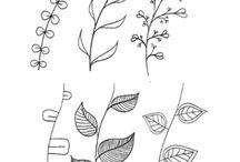 Rajz-festés minták