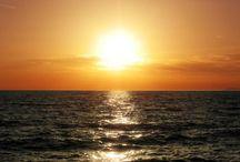 I tramonti / Visti sul mare dal Baia Dorata