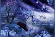 papeles violeta y lila / papeles y fondos en colores violeta y lila