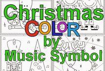 ζωγραφιες μουσικης χριστουγεννα