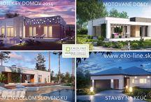Montovane domy EKO-LINE.sk / Montované domy na kľúč eko-line.sk