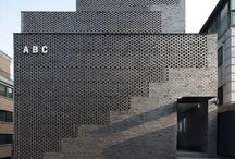Brick façade / Façades made from brick