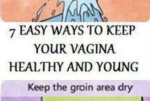 vagina healthy and young