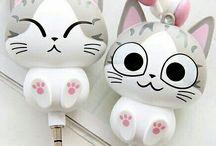 cats / Cat themed gadgets.  Kedili