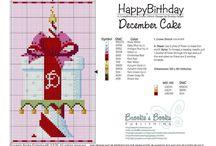 Cross Stitch >> Birthday / by Bernadette Kay Post Nierman