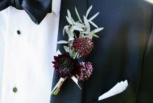 Sträußchen für die Bräutigam