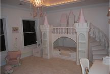 My Little Girls Room Inspiration / Right now my little girl is still in her cot... Looking for ideas for when she goes into her big girl bed...