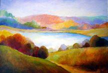 Elaine Binder / Celebrating the beautiful paintings of Elaine Binder (1922-2015)