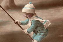 dzieci vintage