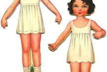 Muñecas para vestir.