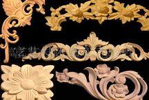 wooden ornaments in architecture - ornamenty v architektuře
