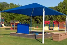 Shade Structures / Belson Outdoors provides a variety of certified Hip, Cantilever & Umbrella Style Shade Structures. Square, Rectangle & Hexagon canopies are sized from 10' to 40' & custom sizes are available upon request. Each structure features an all steel construction, multi-step powder-coated finish & High Density Polyethylene Fabric (HDPF) with stabilizing UV additives. Standard Glide Elbows™ allow a quick hassle free way to remove & reinstall the canopy.