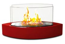 Fireplaces: Valentine's Day 2015 / Here are some RED HOT fireplace ideas for Valentine's Day 2015!