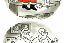 Blood donor's humor