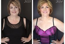 """Before and After Photos / Professional hair and makeup is an important part of boudoir sessions with Photography by Rayleigh. Here are some """"before and after"""" photos so that you can see that the gorgeous women I photograph are every day women, like and you and me, who treated themselves to a day of pampering and beauty. www.byrayleigh.com"""