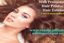 Hair products promotion / We promote your hair extesion business and hair products