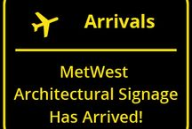 Introducing MetWest Architectural Signage & Wayfinding