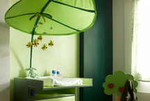 Green baby room