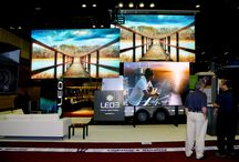 Trade Shows / An important part of what we do here at LED3 for our business is trade shows. This helps us market our products, get our brand out to the public, network with other vendors and build relationships with others in our industry. Take a look at some of the pictures of our displays at the shows.