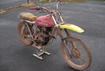 MOTORCYCLE BARN FINDS / by Desmond C