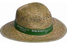 Sombreros de paja, fibra, poliéster y bambú