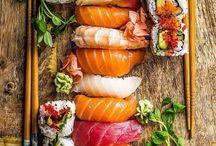Sushi photography