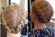 Håruppsättningar / Här är några smakprov på håruppsättningar som jag gjort!