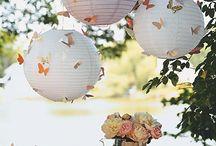 Mariage Papillons / Mariage décoration papillon