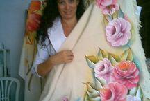 pintura toalhas