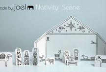 Kids Christmas art