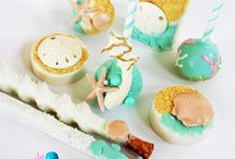 Beach/Under the Sea Cake Pops / Fun cake pops for a Beach or Under the Sea themed celebration
