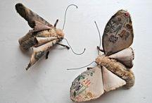 Schmetterlinge nähen