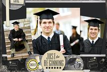 Scrapbooking Pages-Graduation