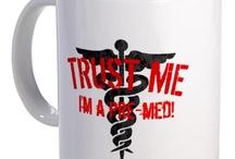 Pre med and medicine! :)